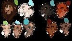 Lion family design adopt: CLOSED: