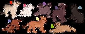 Sketchy cub adopts. CLOSED: