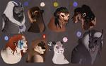 Lion designs: AUCTION. CLOSED: