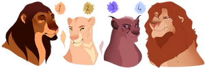 Lion designs collab AUCTION. with oCrystal. CLOSED