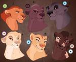 Sassy lioness adopt. CLOSED: