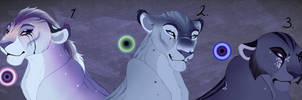 Blue Hue lioness adopt. CLOSED: by BeeStarART