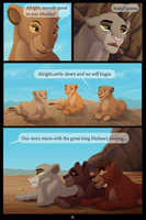 Through the eyes of three. part 1 page 6 by BeeStarART