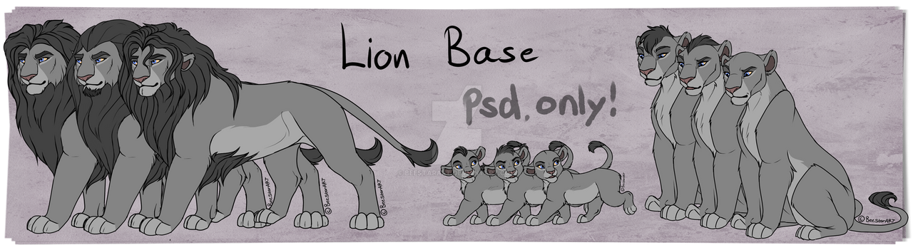Lion base only 600 points!