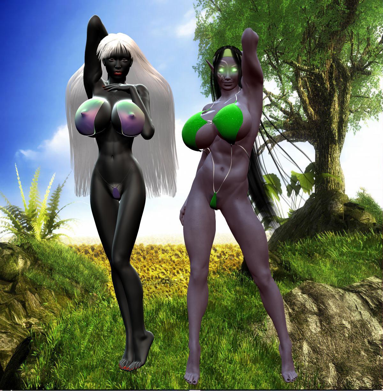Drow pussy nude photo