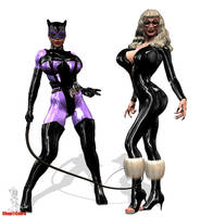 CatWimmen by Chup-at-Cabra
