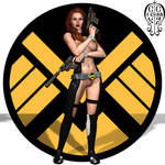 Black Widow-Erotic Earth by Chup-at-Cabra