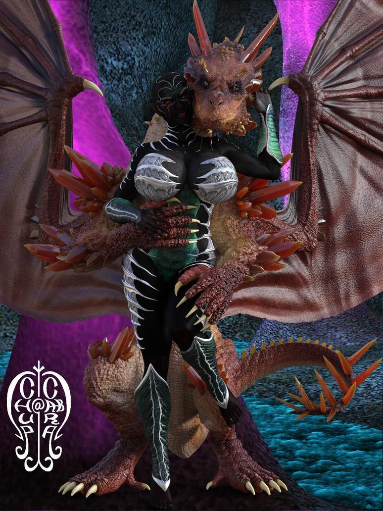 Dragon, Lady by Chup-at-Cabra