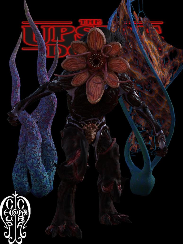 Demogorgon Stranger Things by Chup-at-Cabra