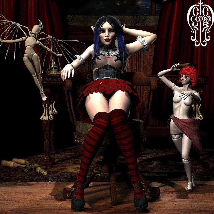Doll Mistress by Chup-at-Cabra