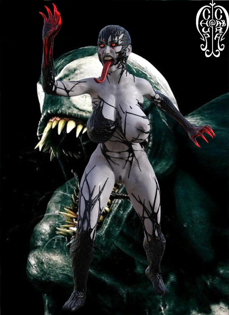 Lady Venom by Chup-at-Cabra
