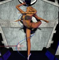 Twi'Lek Battle Dancer by Chup-at-Cabra