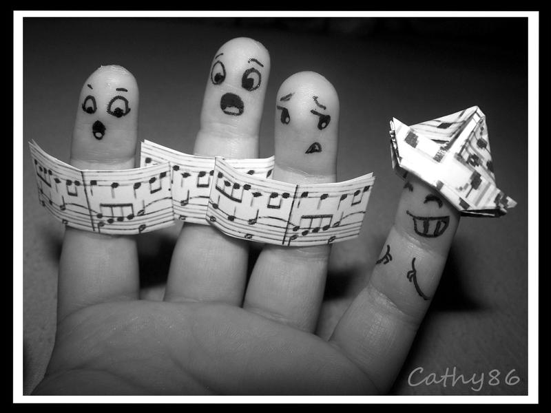 Finger Art: The 'Solo' by Cathy86