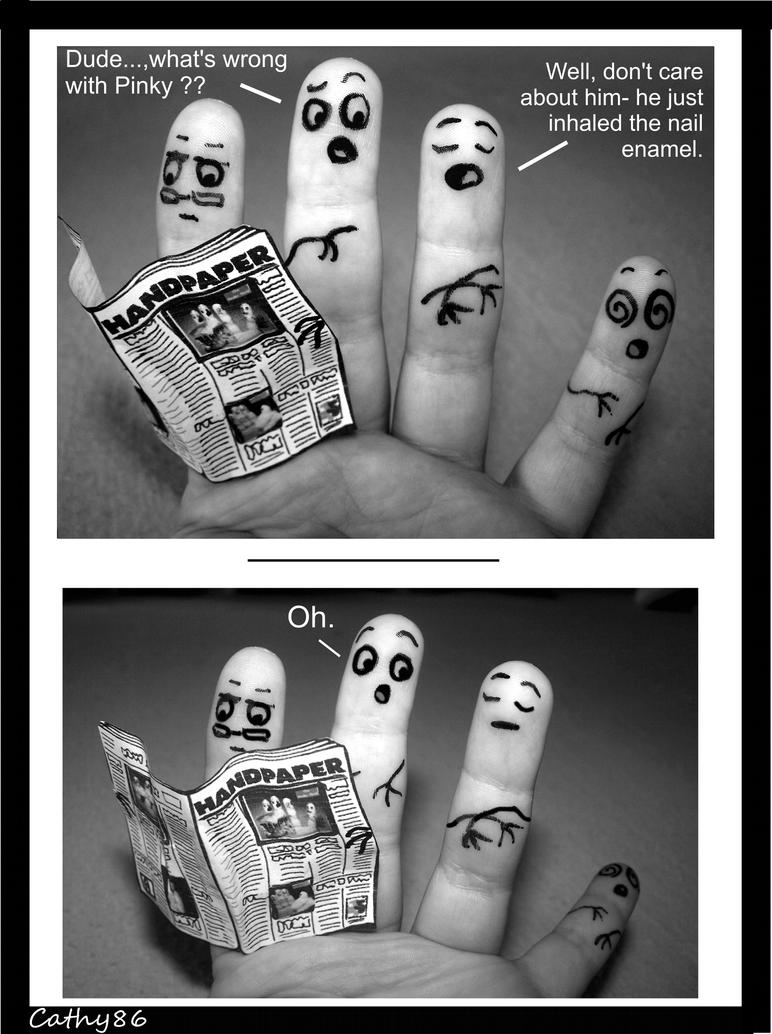Finger Art: The nail enamel by Cathy86