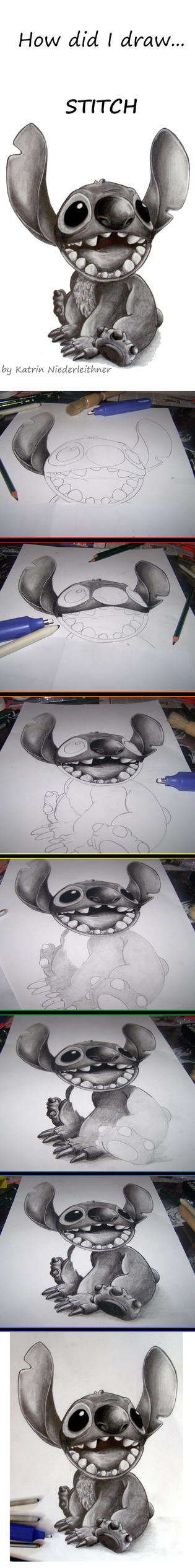 How did I draw... STITCH by Cathy86
