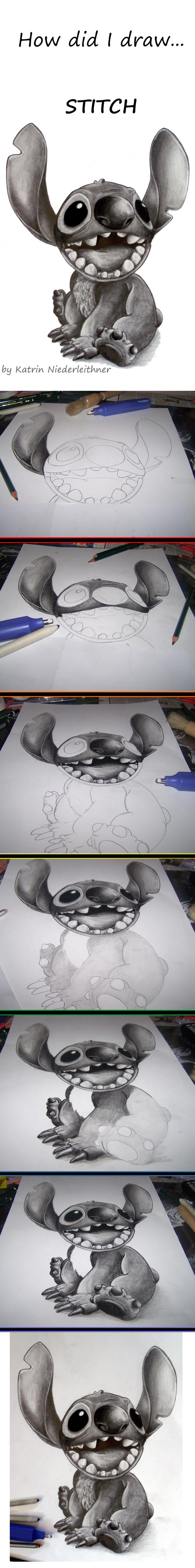 How did I draw... STITCH by Cathy86
