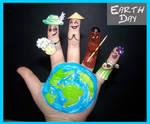 Finger Art: Earth Day