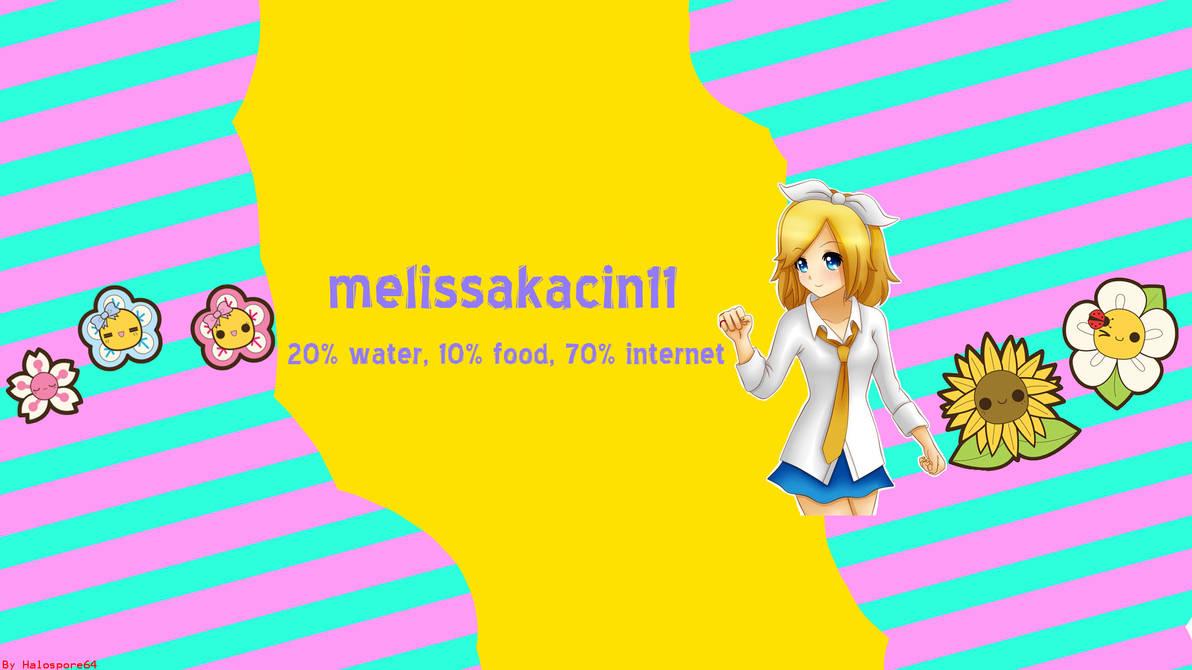 Mel~ YouTube Banner OF DOOM by Halospore64 on DeviantArt