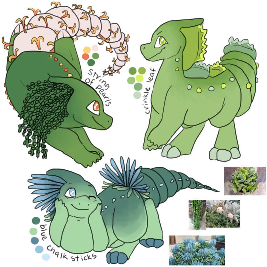 [Paralogos] Succulent Designs!!