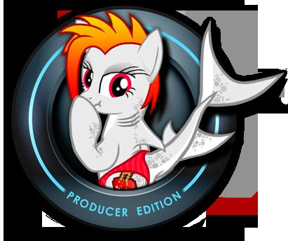 OC HAXY SHARKPONE FL Studio start up logo by FLAOFEI