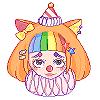 tiny clown. by xershi