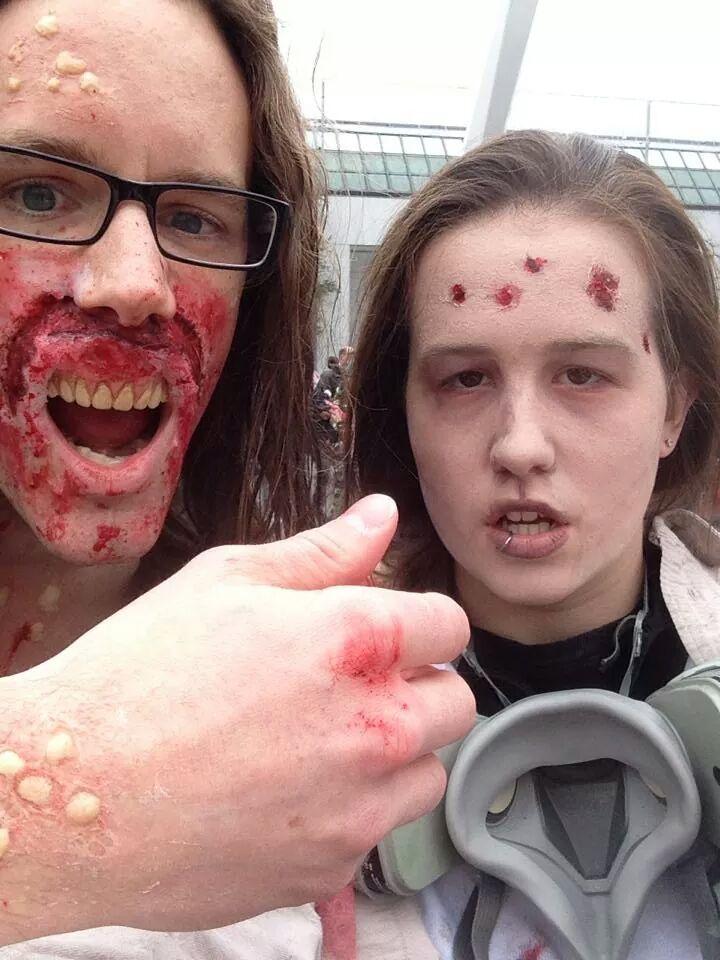 zombies!!!! zombie walk 2014 by Zombiefatal