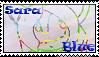 Sara Blue -Stamp- by BoludaChan