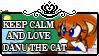 Keep Calm And Love Danu The Cat by MultiDanita123