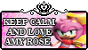 Keep Calm And Love Amy Rose by MultiDanita123