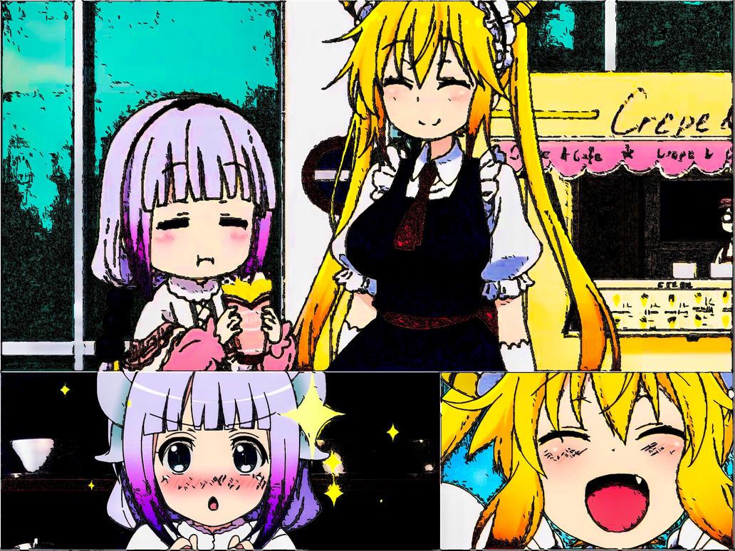 Tohru-San and Kanna-Chan by 0soot