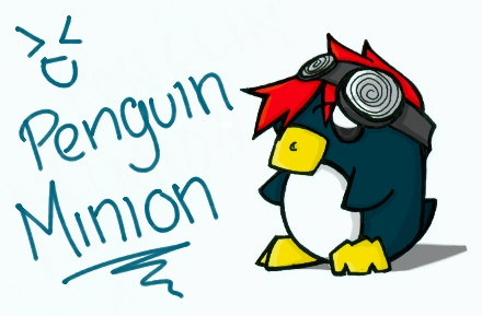 Penguin Minion by Mioku