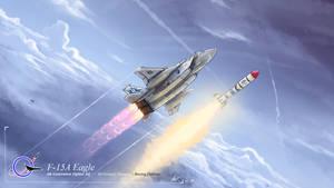 [ Chibi Vehicles ] F-15A Eagle 'ASAT'