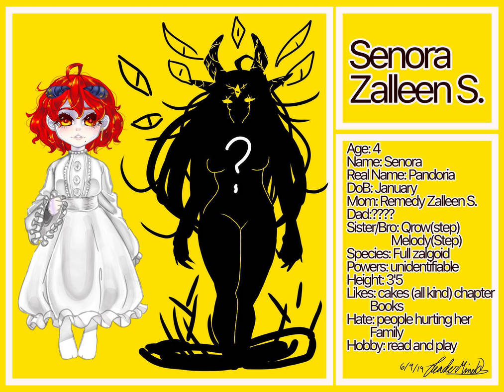 cp oc: Senora Zalleen S.