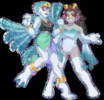 Fish Princesses by AwesomeBlossomPossum