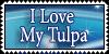 I Love My Tulpa Stamp