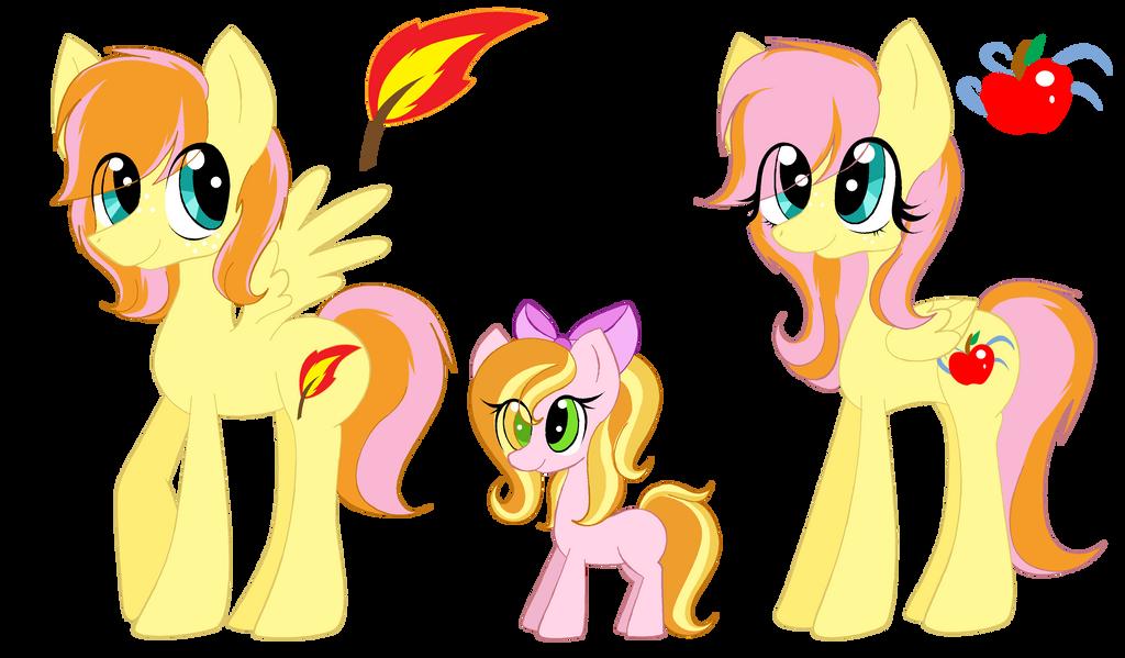Breashy ponies by xXFluffyBishXx
