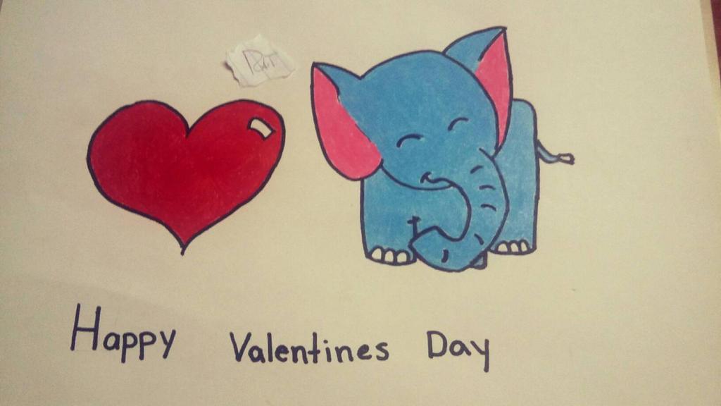 Elephant Love by SlimyRat