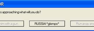 Ivan Error Message