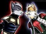 Fox versus Wolf