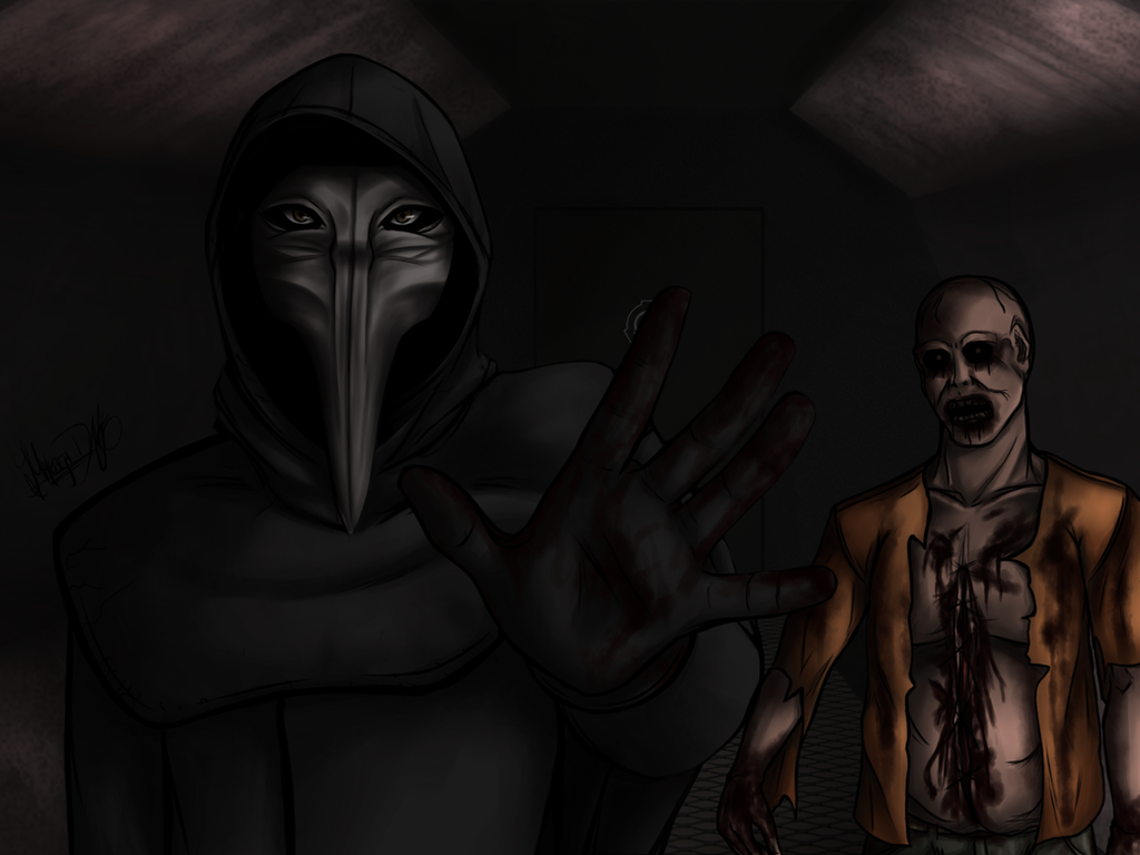SCP-049 / SCP-049-2 by Malebeja