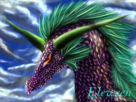 diamond Dragon by Eleween