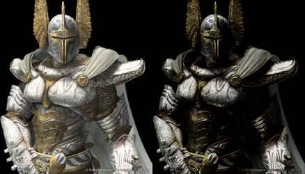 Templar Knight by ShiryuX