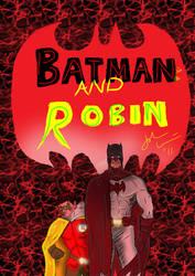 Quick batman robin by CardiacMIst