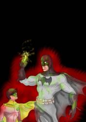 Batman and Robin kryptonite by CardiacMIst