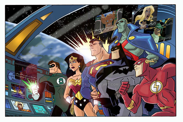JLA II COLORS by POPSTATA