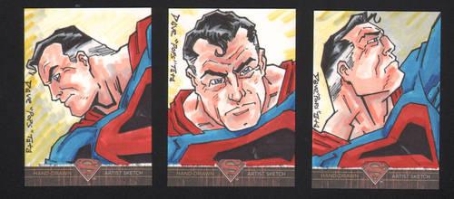 SUPERMAN: THE LEGEND KINGDOM COME AP sketch cards