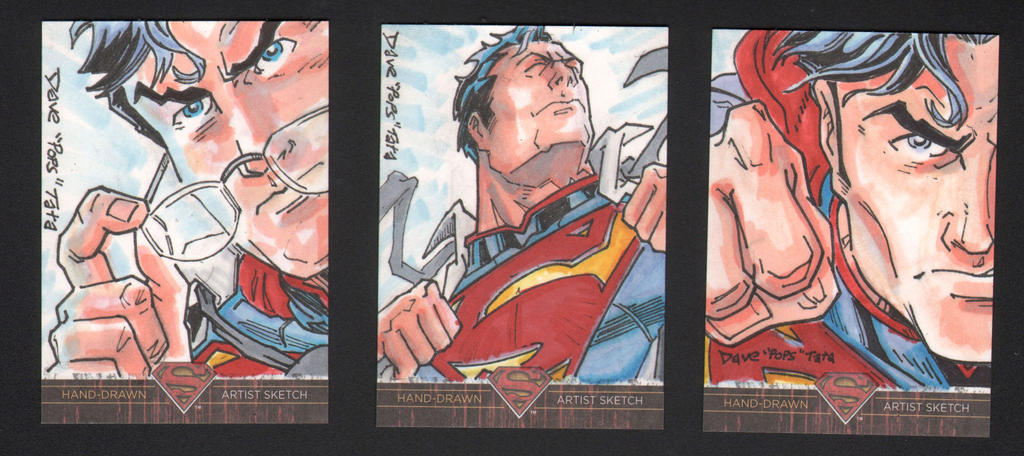 SUPERMAN: THE LEGEND NEW 52 SUPERMAN APs by POPSTATA