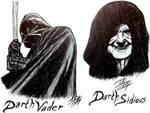 Darth Vader and Darth Sidious - Star Wars