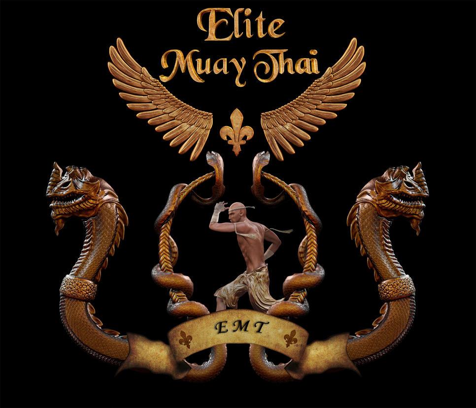 Elite Muay Thai Box Club Emblem By Vukaddin On Deviantart