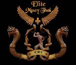 Elite Muay Thai box club emblem